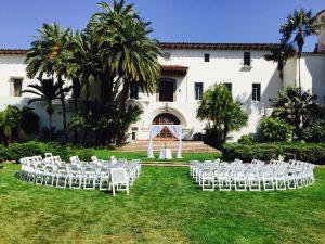 perfectly white wedding