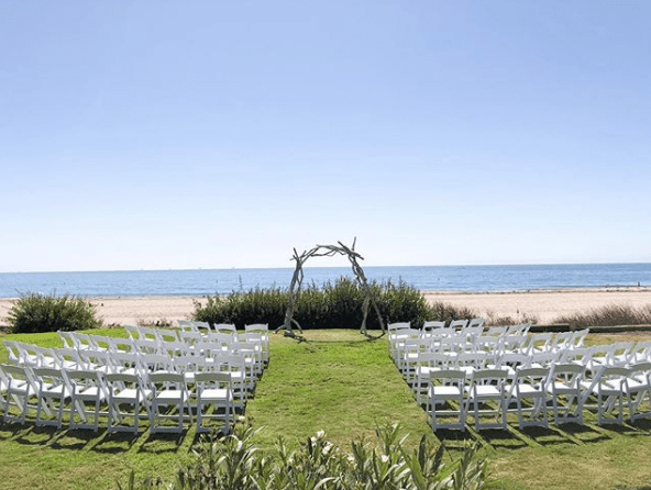 Ledbetter Beach Wedding