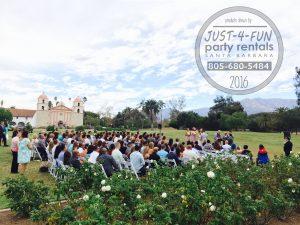 mission rose gardens wedding
