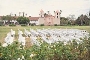 Santa Barbara Mission Rose Gardens
